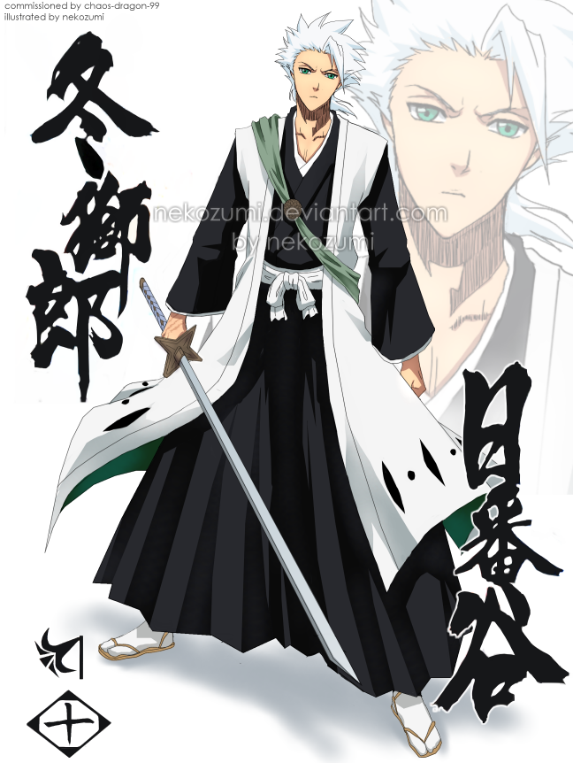Anime Characters Grown Up : Bleach grown up hitsugaya by jennaris viantart on