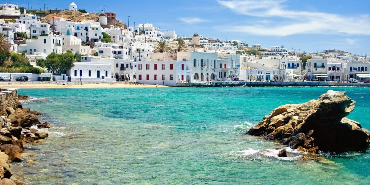 Best Island Beaches For Partying Mykonos St Barts: Windstar Istanbul To Athens: Near The End Of The Sailing