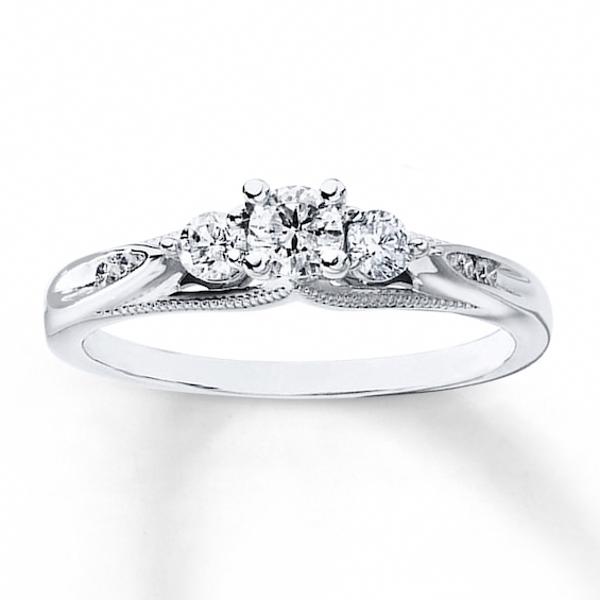 Curved V diamond wedding band solid 14K rose gold ring