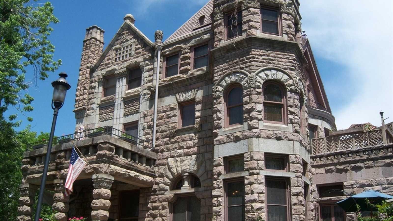 Castle Marne Bed and Breakfast Denver USA Castle