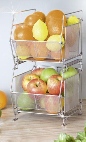 Kosz Na Owoce Warzywa Stojak Skrzynka Pojemniki 3882525841 Oficjalne Archiwum Allegro Fruit Kitchen Sweet Home