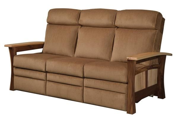 Amish Shaker Gateway Recliner Sofa (With images ...