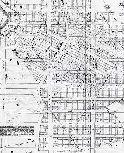 City Grid Grids On Grids Manhattan Map City Grid