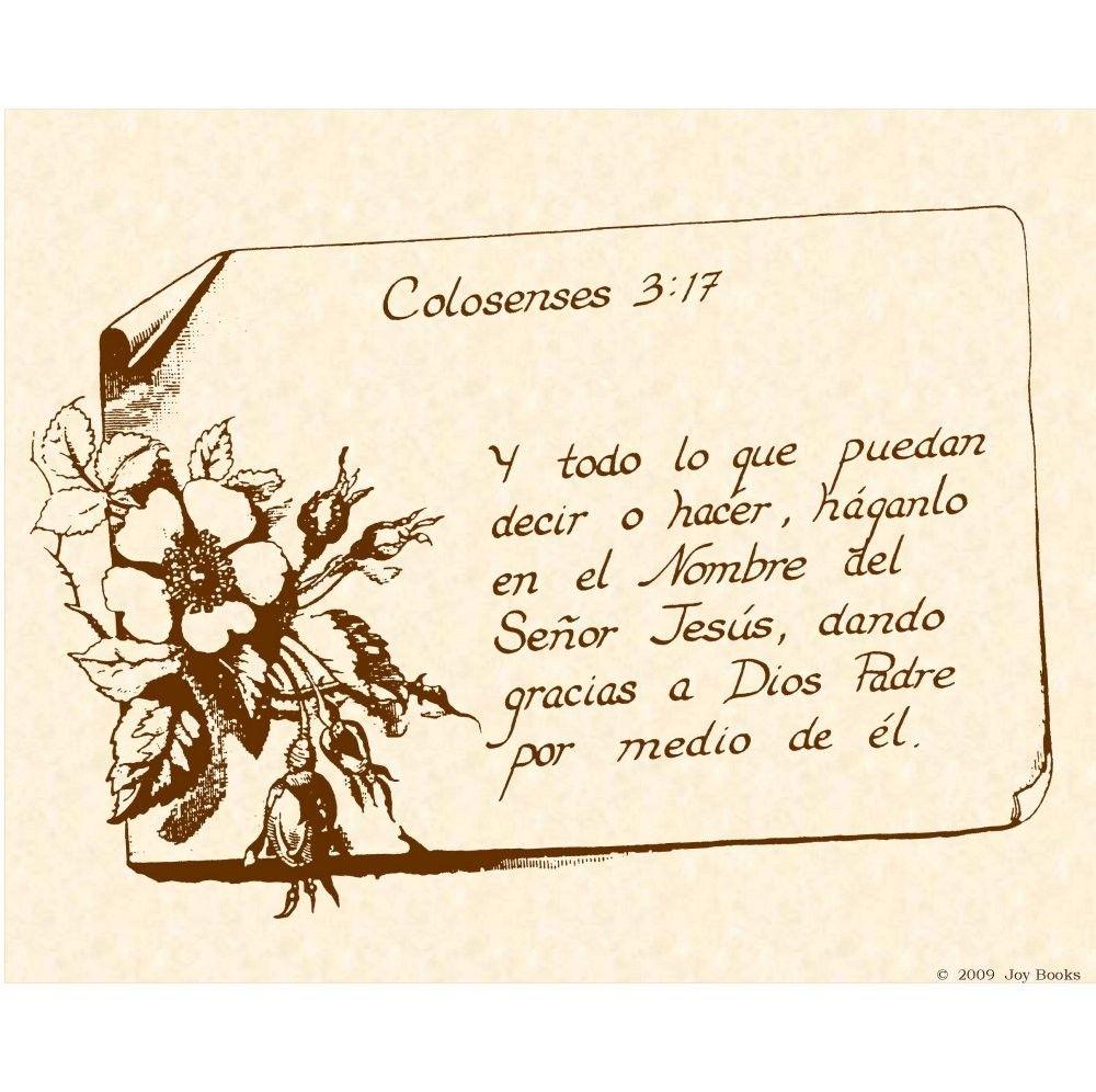 spanish bible verse teaching kids spanish pinterest