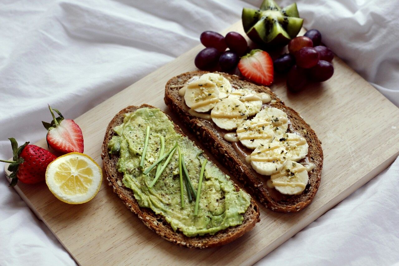 daily vegan — My ALL time favorite: good whole grain bread...