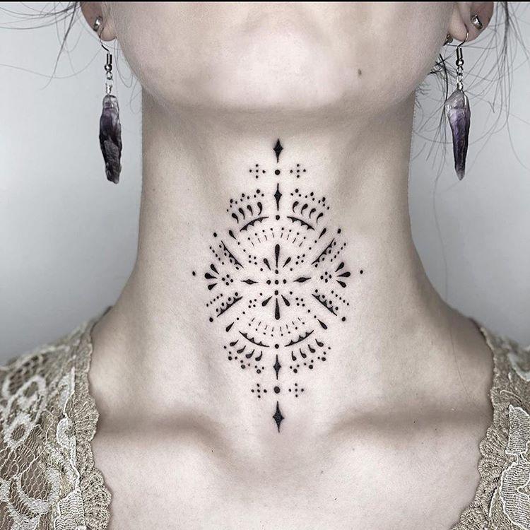 Photo of Blackwork tattoo by @blackworkers   Inkstinct