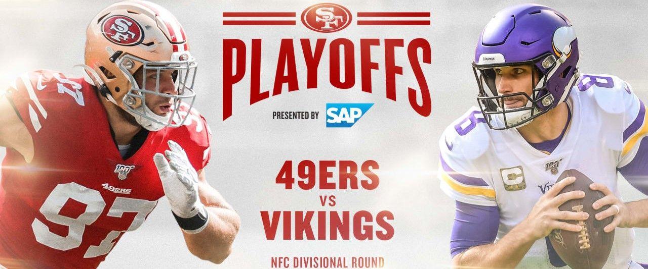 Minnesota Vikings vs San Francisco 49ers NFC Divisional