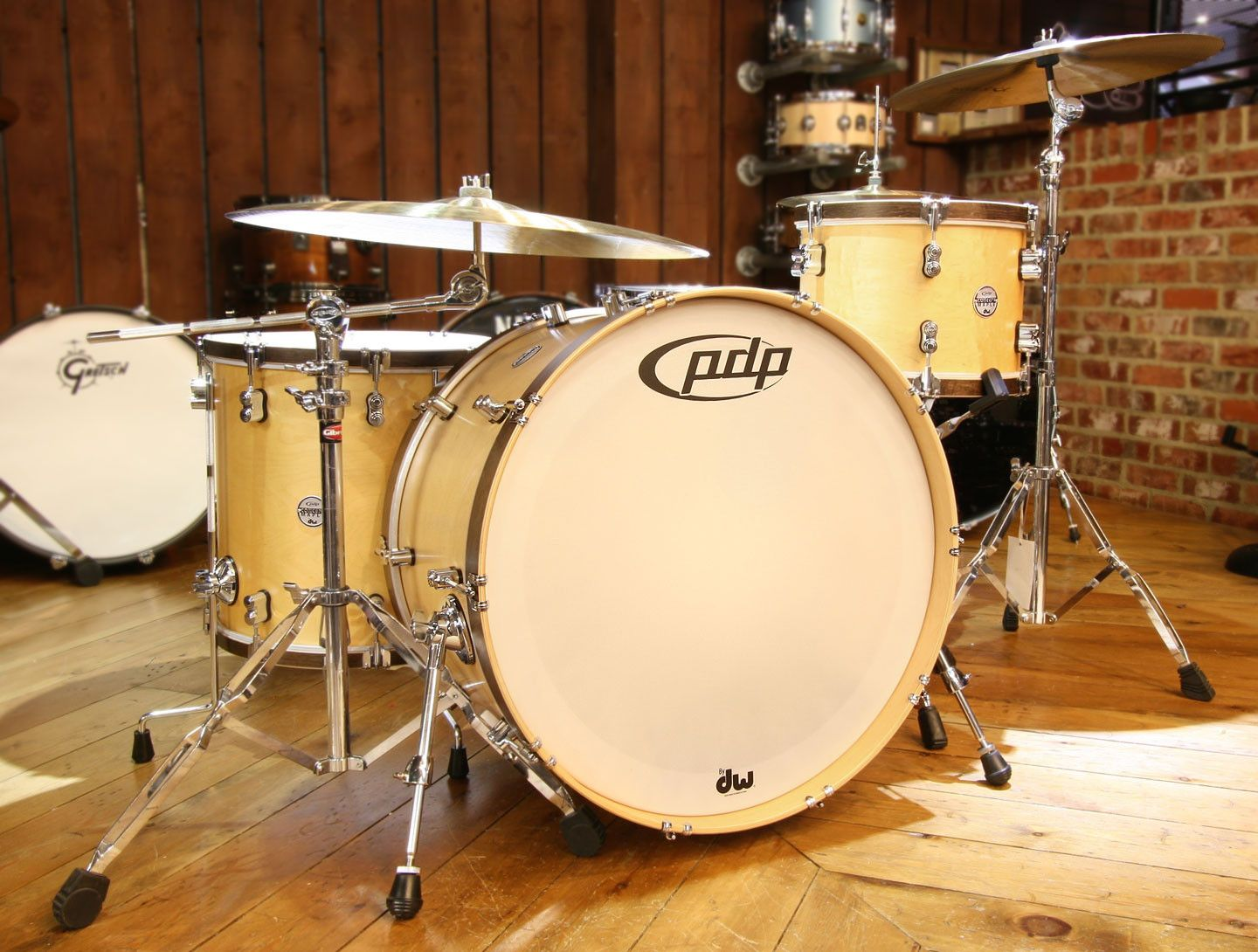 US $2,000.00 SJC drums (WHITE SATIN STAIN KIT) SNARE INCLUDED (4 ...
