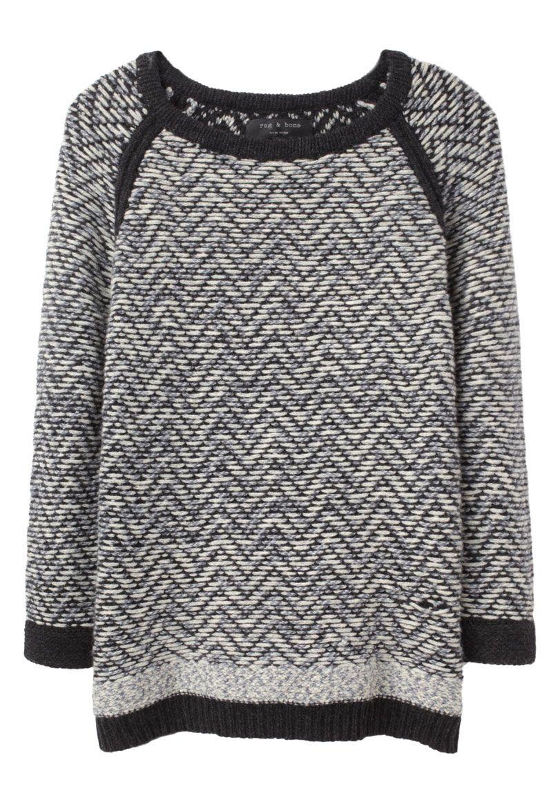 84be757628a Women s Gray Samantha Chevron Sweater