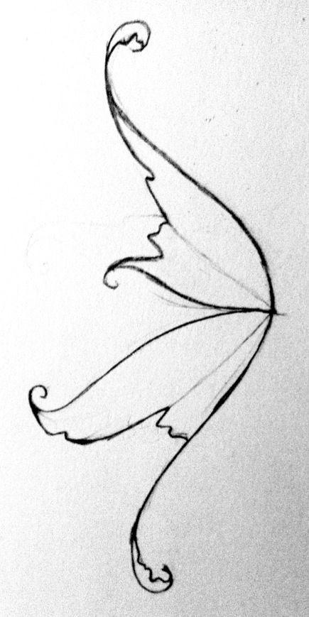 Cb04b498eb9ffb28e61f30ea3b51b793 Jpg 435 869 Fairy Wings Drawing Wings Drawing Fairy Drawings