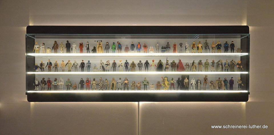 Custom Made Star Wars Action Figure Display Shelf Display Caes Custom Star Wars Action Figure Display Stand