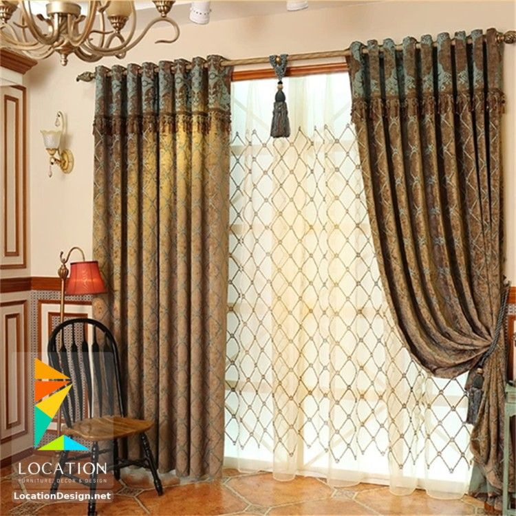 كتالوج ستائر صالونات وانتريهات من اشيك الستائر للريسبشن Luxury Curtains Home Home Decor
