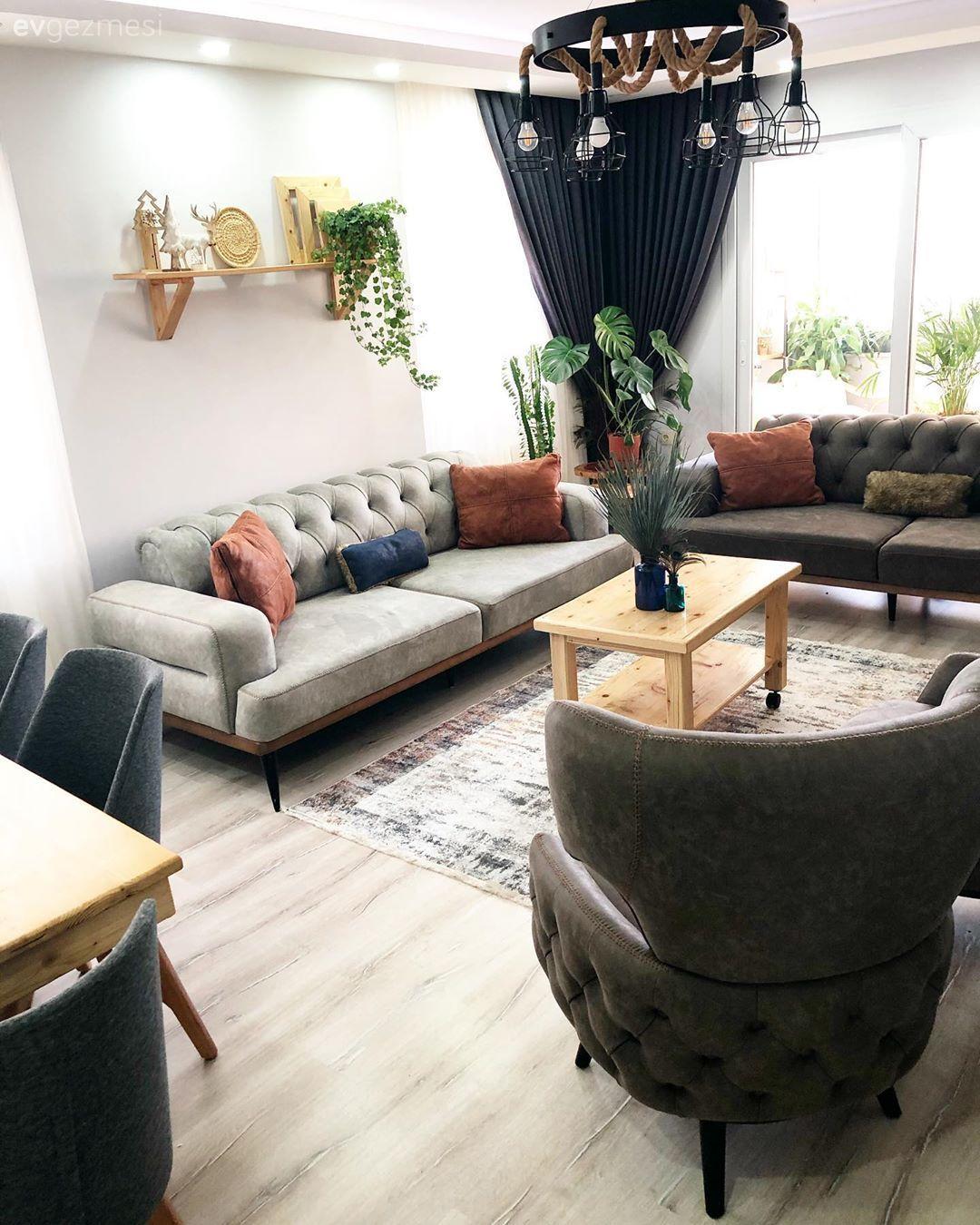Ev Gezmesi: Modern ve Rustik Detayların Sıcacık Buluşması | Ev Gezmesi