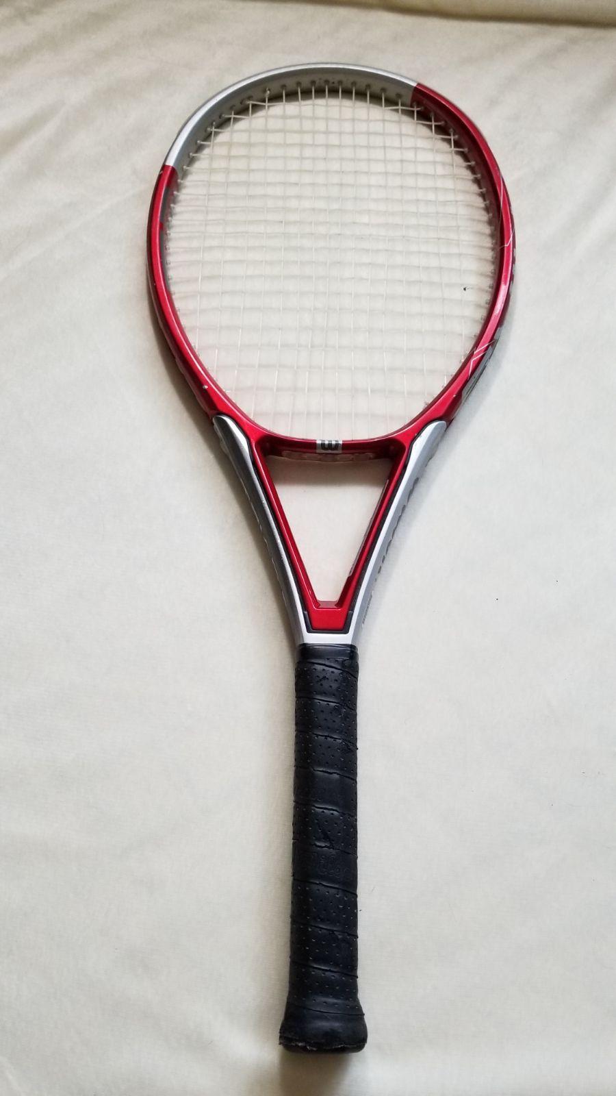 Tennis Racket WILSONTRIAD 5 OVERSIZE Tennis racket
