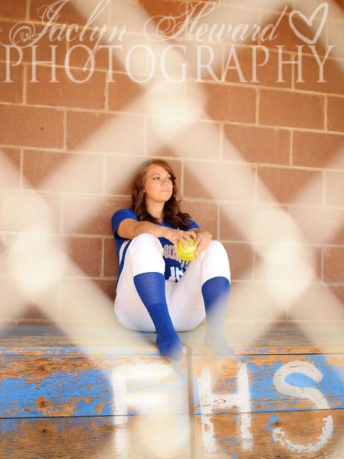 Love this Softball senior pictures, Senior photos girls