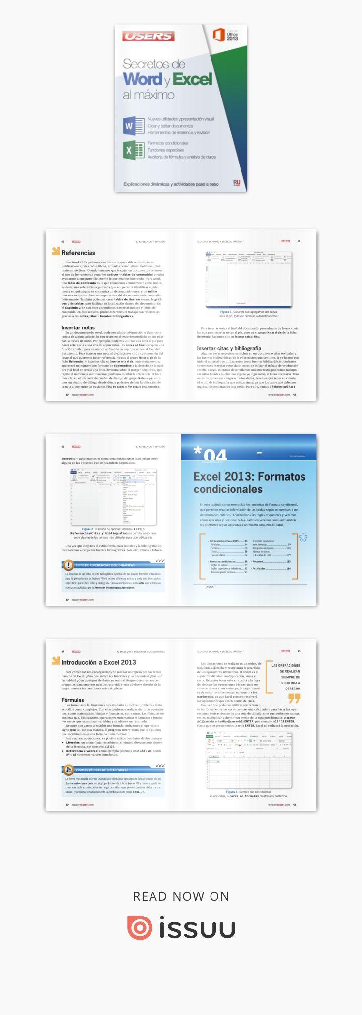 Secretos de word y excel al maximo | DEBERES | Pinterest | Curriculum