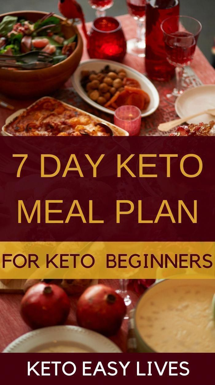 Easy 7 day keto meal plan diet menu for beginners The 7 day keto meal plan with