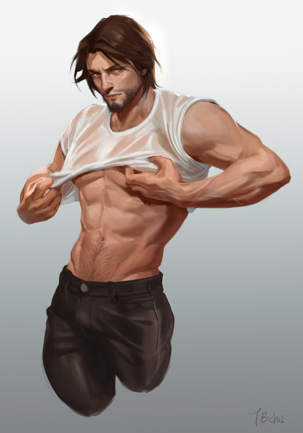 Tb Choi On Twitter Mccree Overwatch Anime Guys Shirtless Overwatch Fan Art
