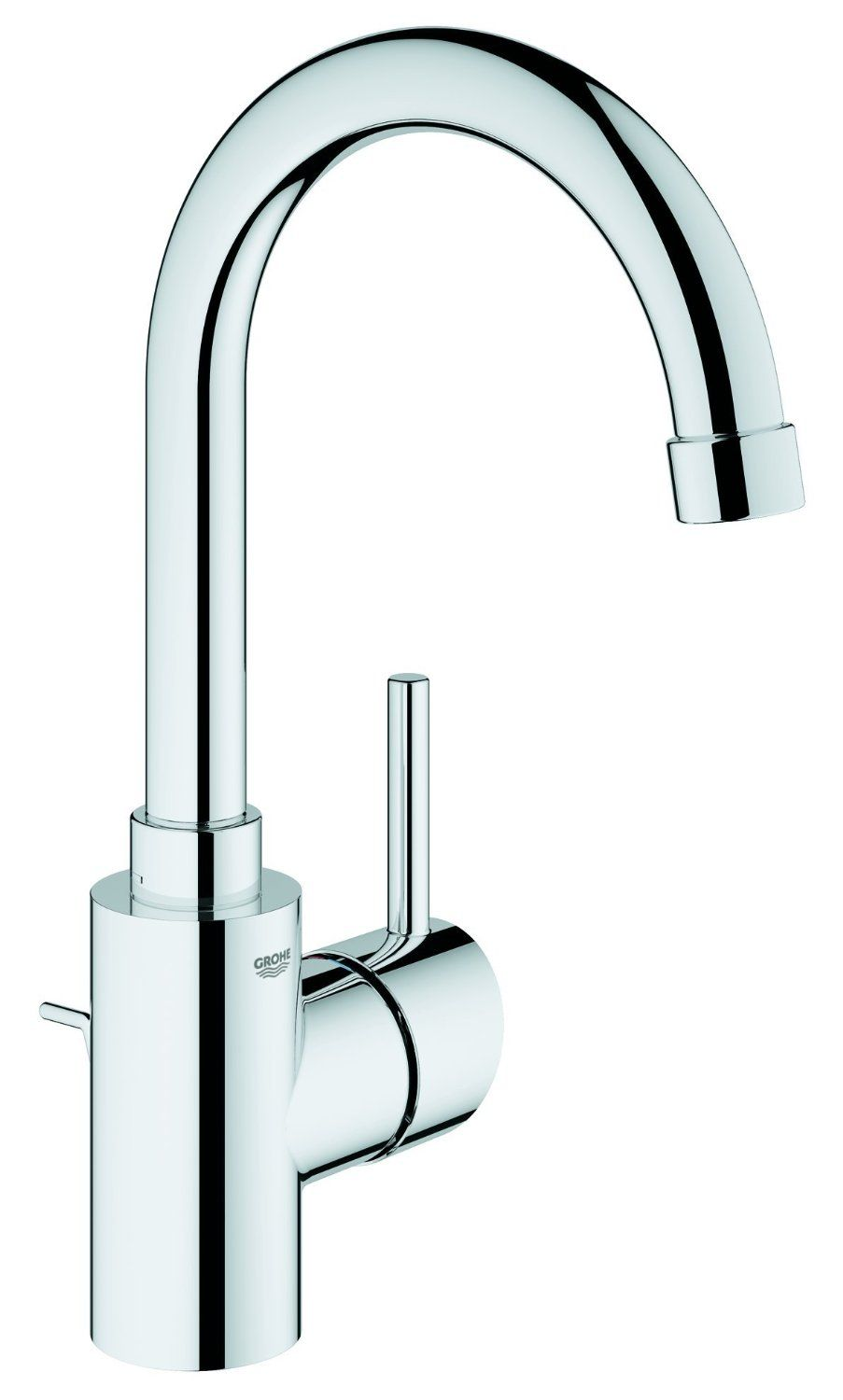 grohe concetto basin mixer high spout with pop up waste lp amazon