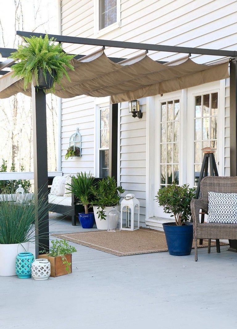 40 Diy Crafts Shade Canopy Ideas For Patio Backyard Decorations Patio Shade Patio Deck Designs Backyard Shade