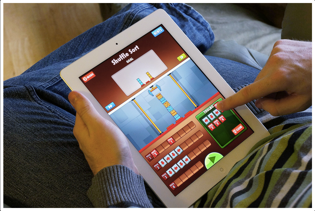 iPad Game Development Coding for kids, Ipad games