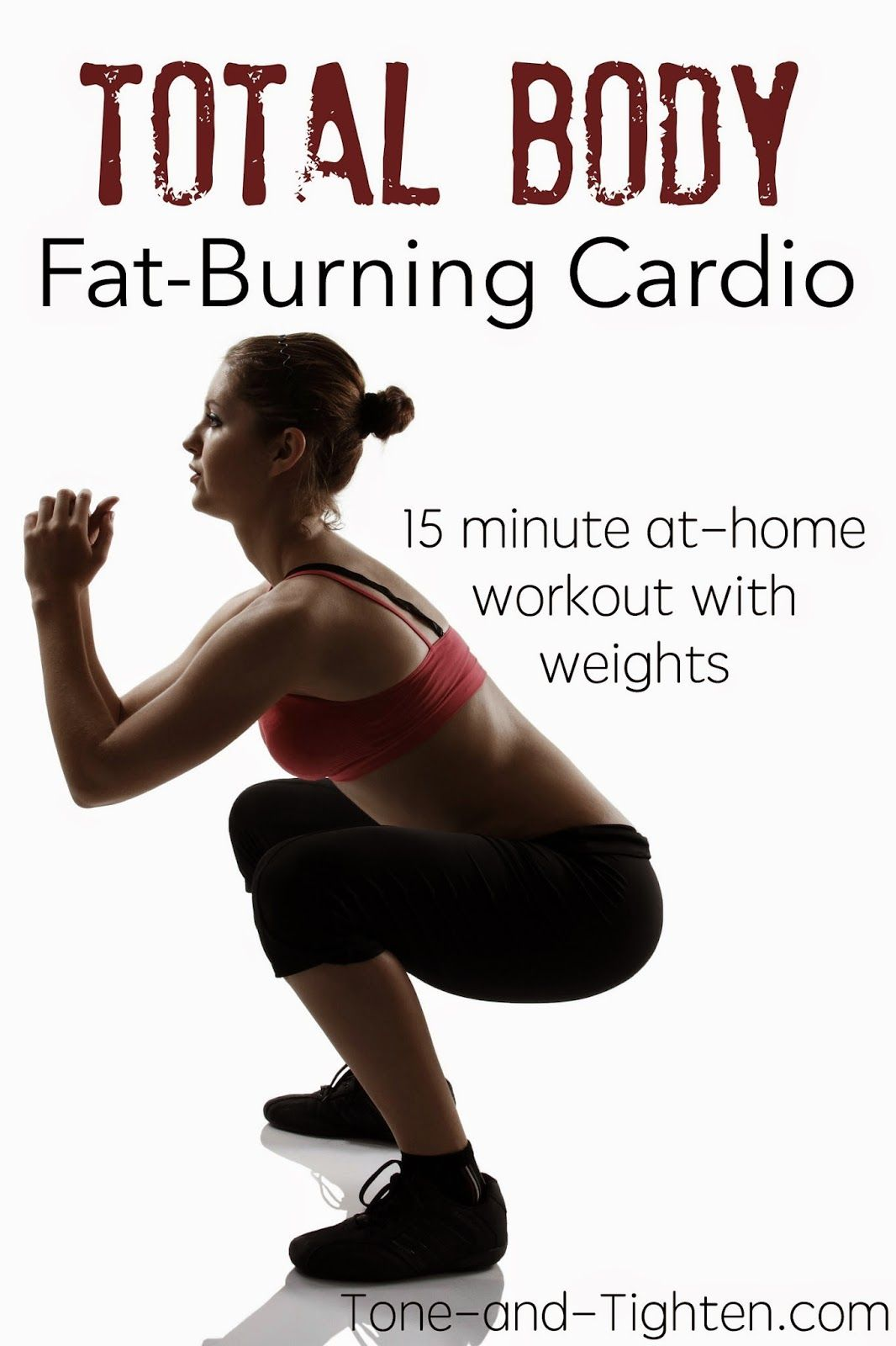 Total Body Fat-Burning Cardio Workout - 15 minutes long, but it was INTENSE!