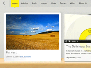 Shelf theme for Wordpress...I'll get it at some point. Just love this theme...