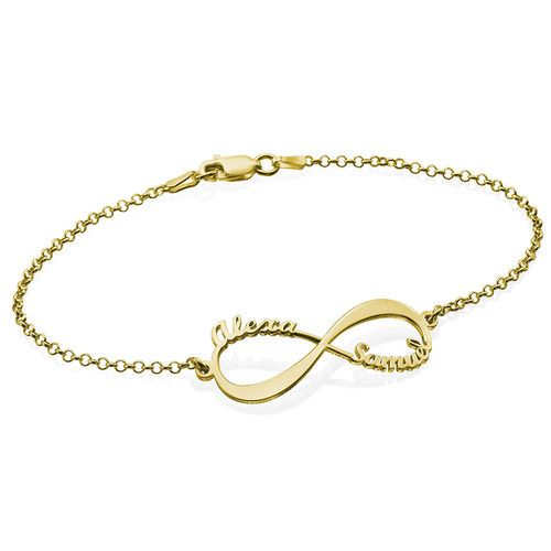 7a51d34dac574c Summer Collection - Personalized Jewelry | MyNameNecklace Infinity Schmuck, Infinity  Bracelets, Gold Bracelets,