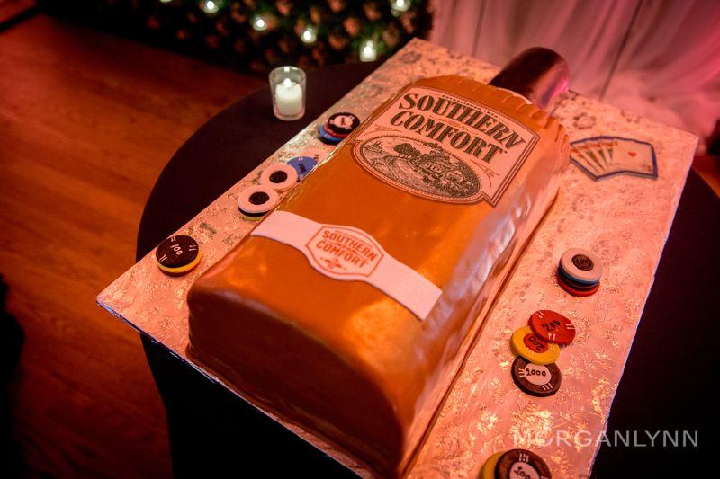Southern Comfort Groom's Cake!