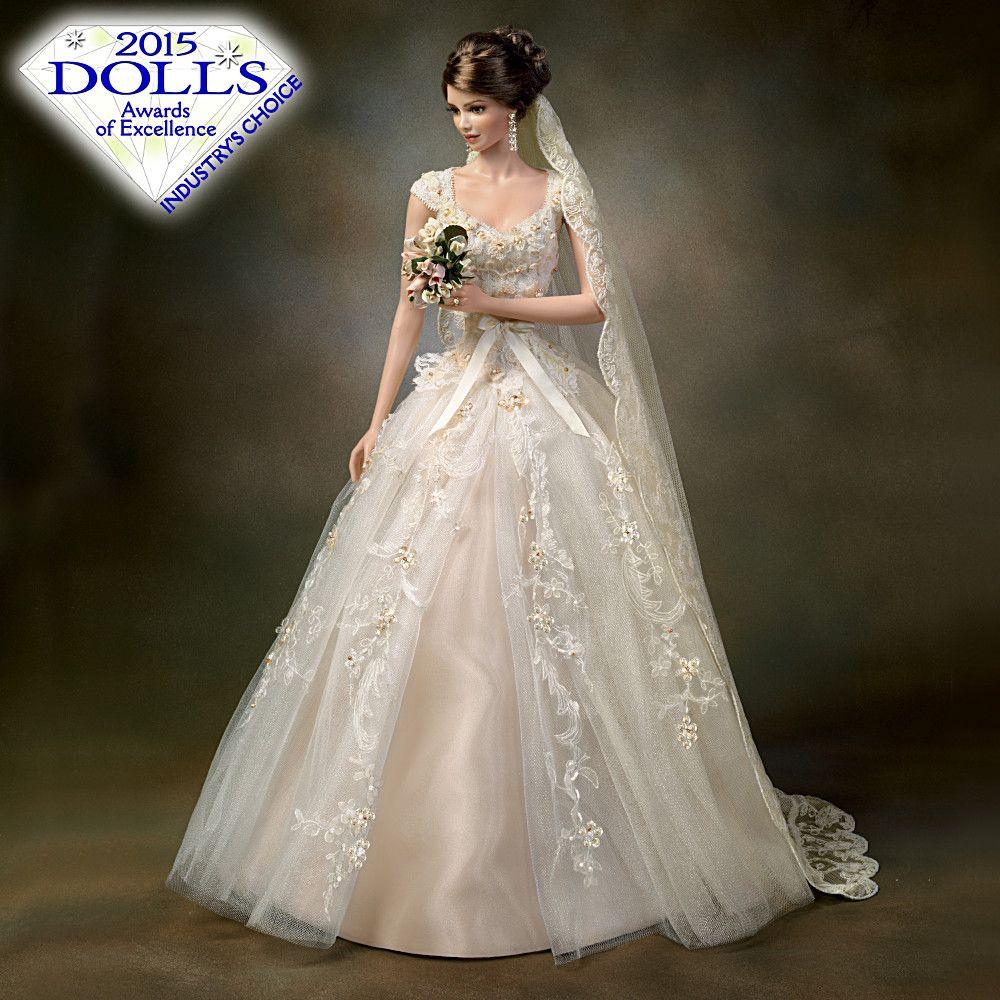 "Naviblue 2019 Wedding Dresses Dolly Collection: Sandra Bilotto ""Titania Queen Of The Fairies"" Porcelain"