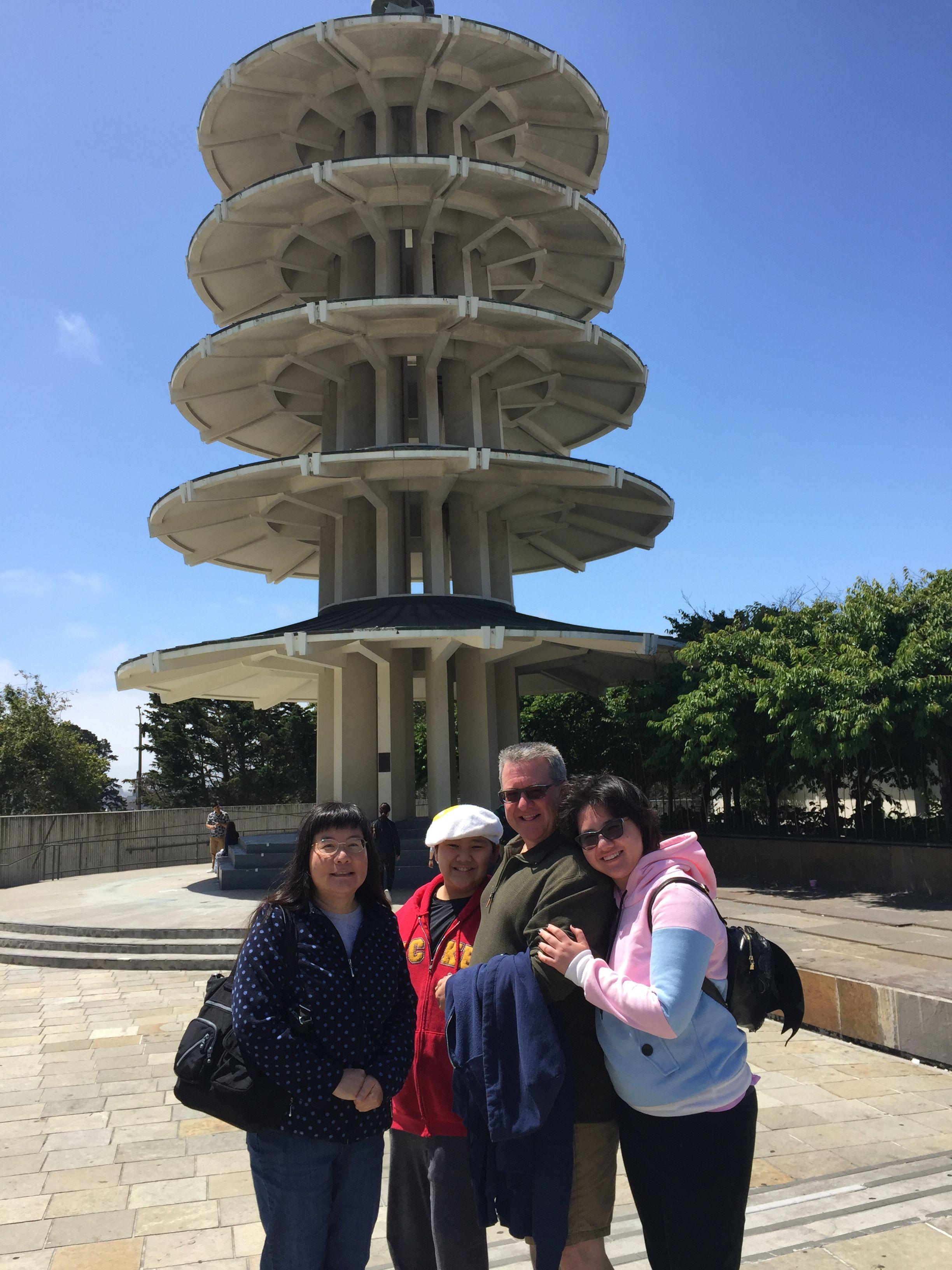 Peace Pagoda at Japantown, San Francisco