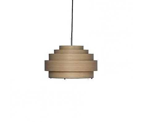 Ay Illuminate Hanglamp Thin small naturel bruin bamboe Ø40x24cm