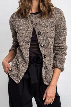 Damenstrickjacke - kostenlose Anleitung   Crochet stuff and knitting ...