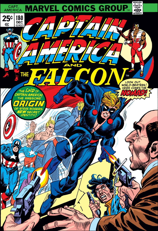 captain america (1968) issue #180 - read captain america