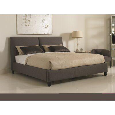 Precedent Furniture Caleb Upholstered Platform Bed Upholstered