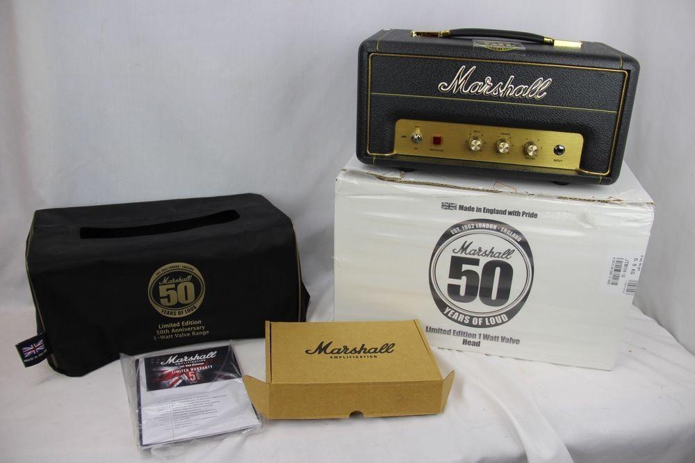 MARSHALL JMP-1 (JMP1H) 50th ANNIVERSARY 1-WATT TUBE AMP