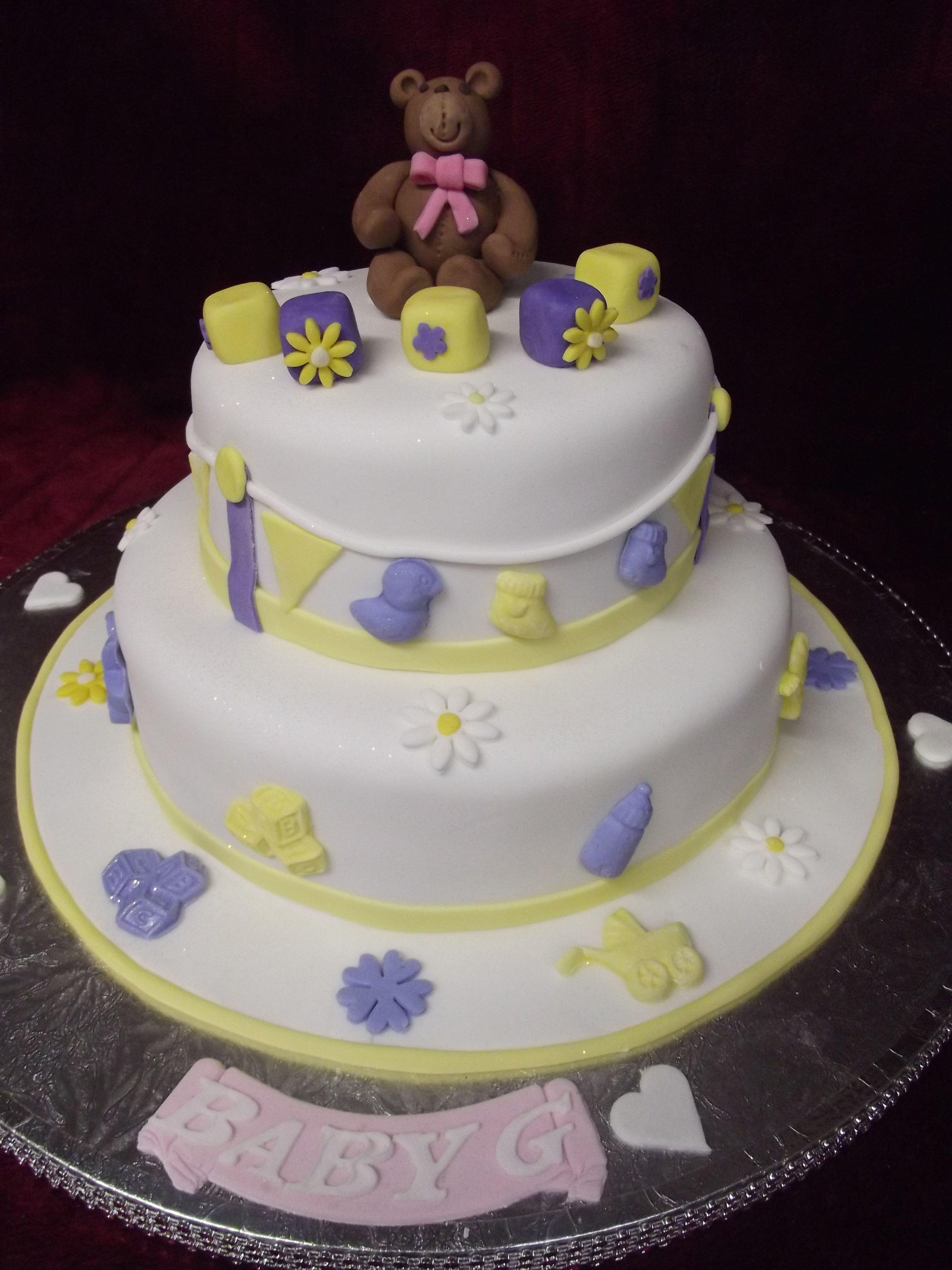 Gender Reveal cake baby shower cake Email