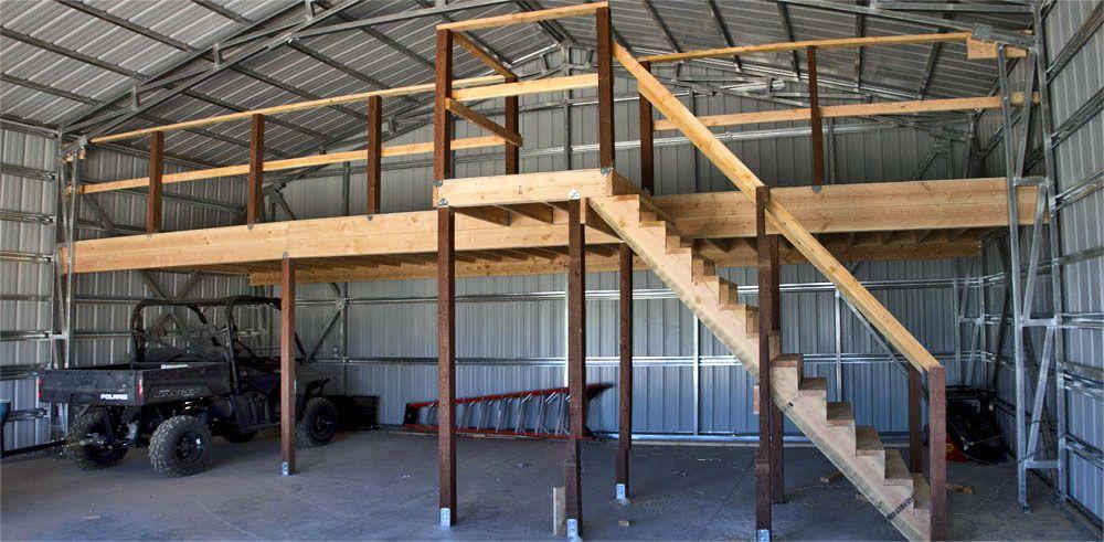 Pole barn kits provide plenty of options to consumers for Pole barn loft