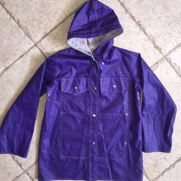 Items international purple raincoat | Raincoat, Rain coats and ...