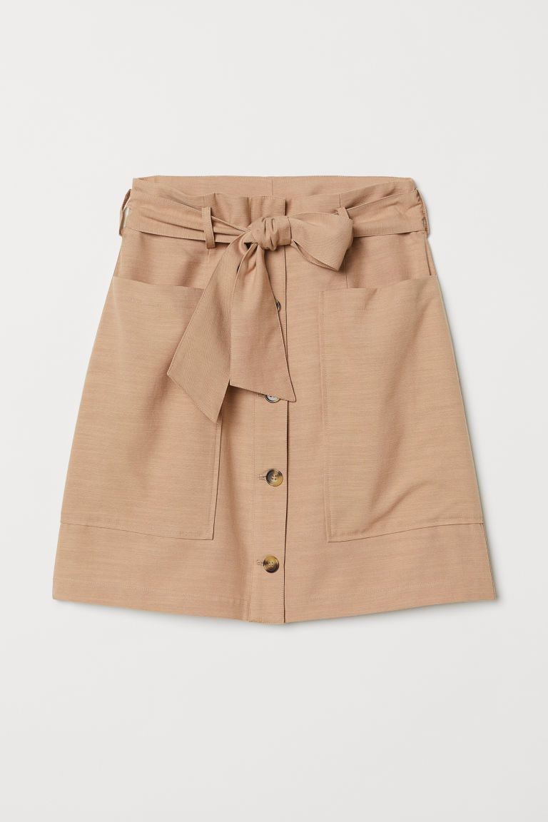 043bb486bd6e8 Lyocell-blend Utility Skirt in 2019   ~FALL FASHION~   Skirts ...