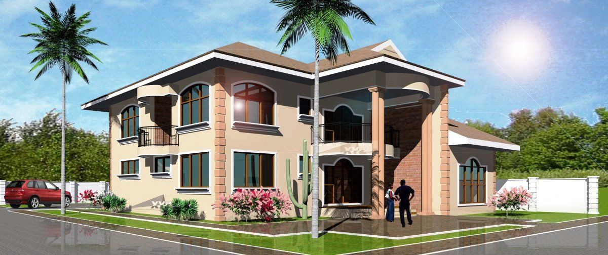Pin by Kwabena AduSarpong on My Residences Latest house