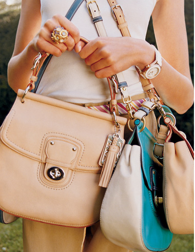 Coach Willis bag in natural  (a bit big...but loving the retro structured look!)