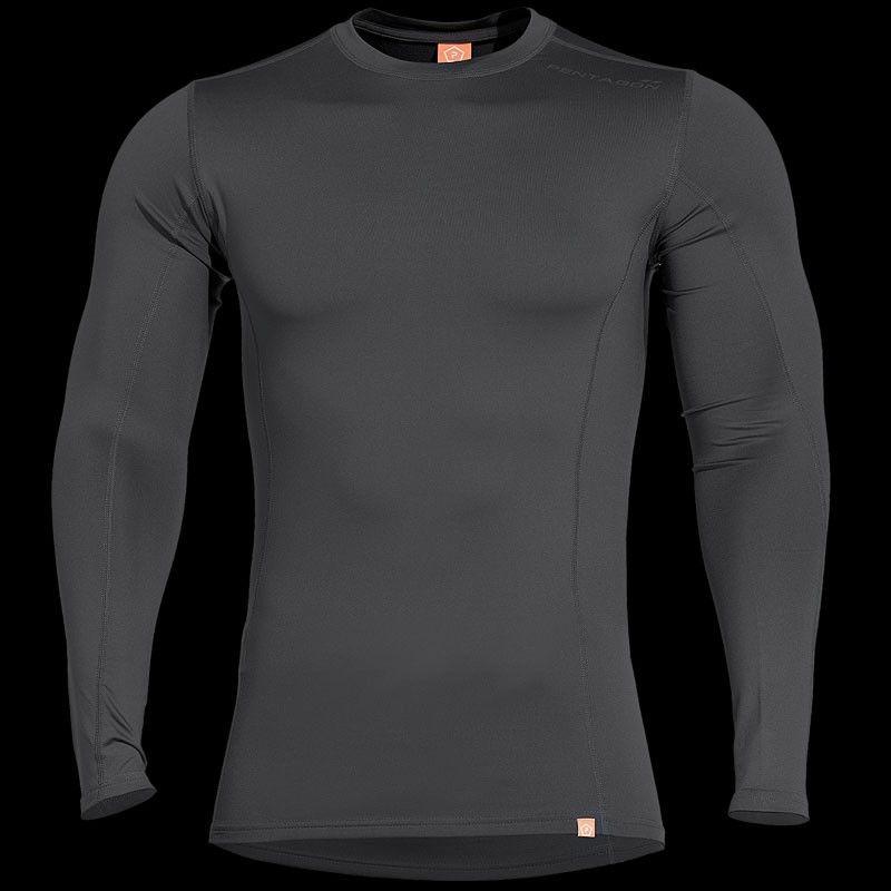 Pentagon Mens Pindos 2.0 Thermal Shirt Black