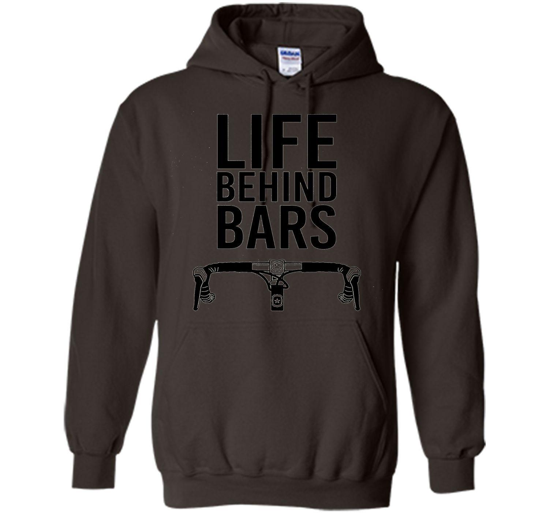 Life Behind Bars Funny Biking Bike T-Shirt