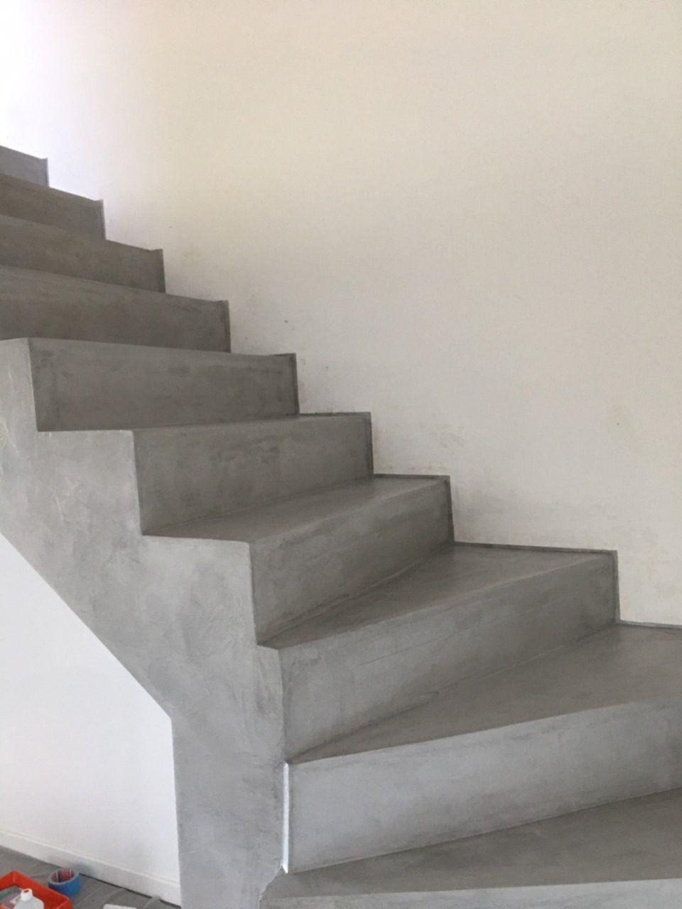 Kit Beton Cire Escalier Sol De Chambre Mur Kit Beton Cire Escalier Beton Cire Beton Cire