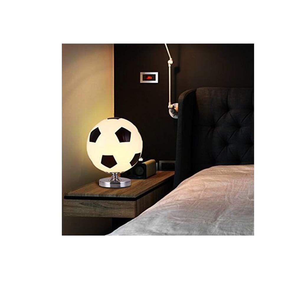 Tolle Nachttisch Lampe für Fußballfans. Die Fußball Lampe