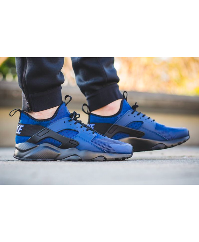 Nike Air Huarache Ultra Royal Blue Black Trainer  ba4a34130e75