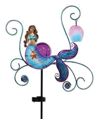 Another great find on #zulily! Mermaid Solar Garden Stake #zulilyfinds
