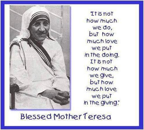 Life Quotes Mother Teresa Best Mother Teresa Quotes About God  35 Penetrative Mother Teresa