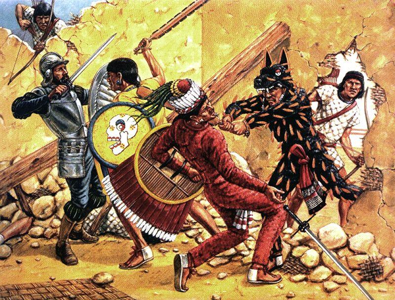 HISTOIRE de l'ANCIEN MEXIQUE.<br>La Guerre contre Tenochtitlán II